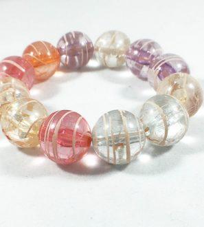 marble beaded bracelet