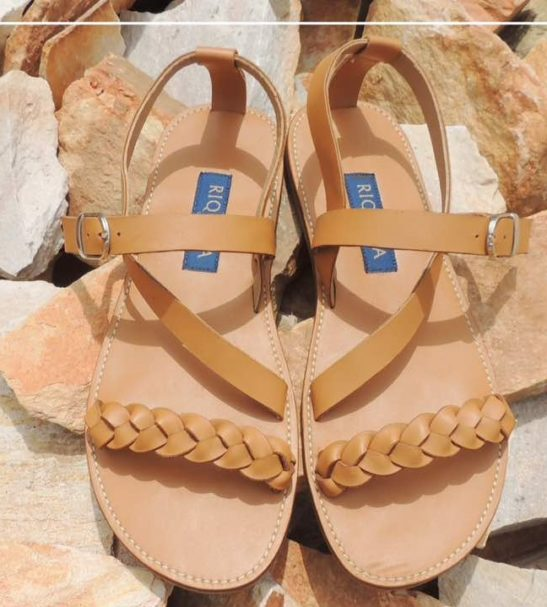 ea051cbfc Leather Crafts Sandals   Slippers - Zoede
