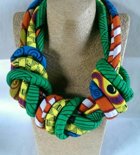 Triple knot necklace
