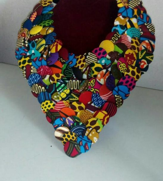 the v neck bib necklace
