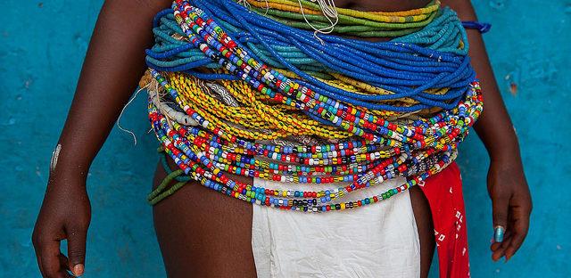 Ghanaian Krobo Beads