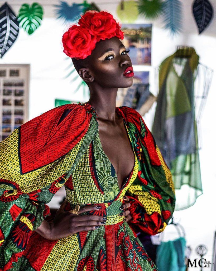 Anakara fashion Nyadhuor Deng