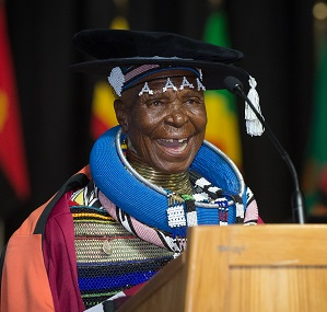 DR. Esther Mahlangu Ndebele Artist